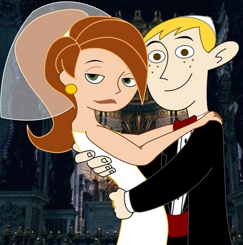 Kim Possible achtergrond with anime titled Kim possible and Ron stoppable.