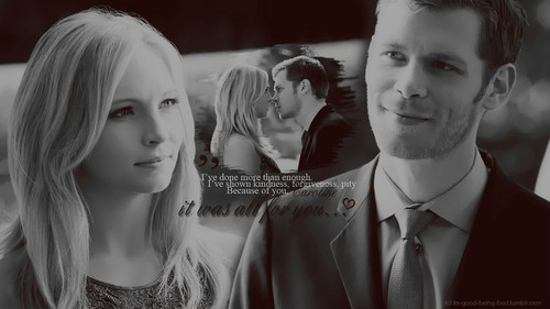 Klaus Mikaelson & Caroline Forbes