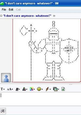 Knight ASCII
