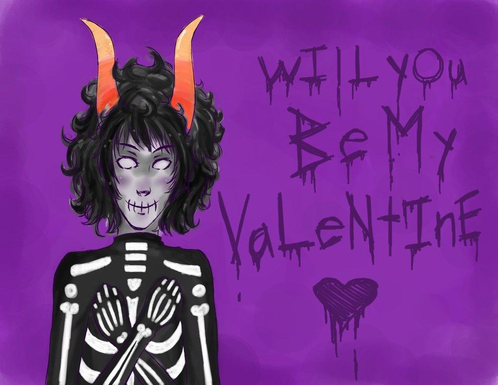 Kurloz Valentine Card