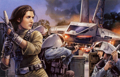 Princess Leia Organa Solo Skywalker wallpaper with a rifleman, a navy seal, and a green beret entitled LEIA