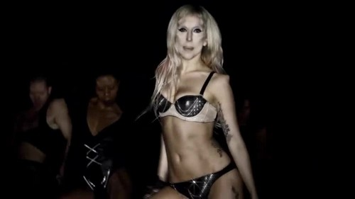 vagos club 壁纸 possibly containing a bikini and attractiveness titled Lady Gaga- Born This Way {Music Video}
