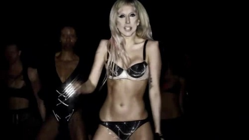 vagos club 壁纸 probably with a lingerie, a bikini, and attractiveness titled Lady Gaga- Born This Way {Music Video}