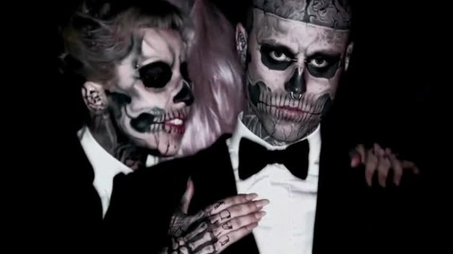 vagos club वॉलपेपर possibly with a business suit titled Lady Gaga- Born This Way {Music Video}