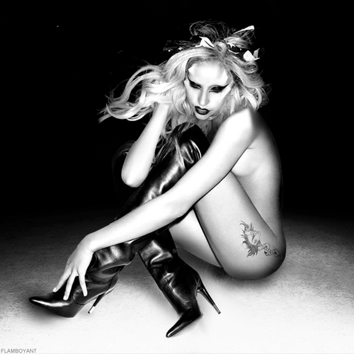 Lady Gaga - Nick Knight Outtake (Manip)