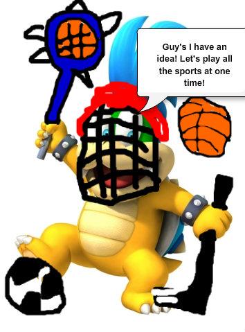 Larry koopa Sportsrama
