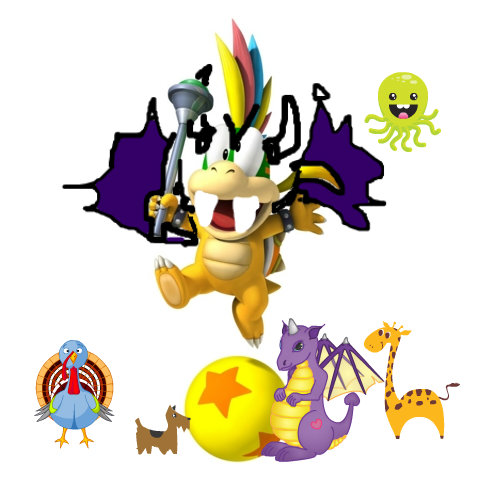 Lemmy the Bazar Dragon