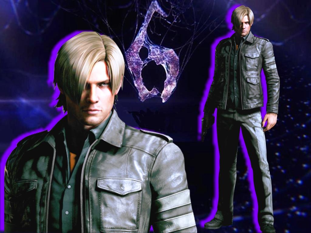 Leon Kennedy Resident Evil 6 Walpaper Leon S Kennedy 壁纸