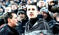 Leonardo Bonucci watching match with the fans