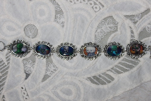 MINECRAFT chibis art bracelet