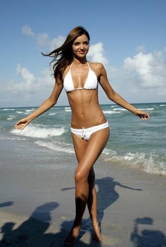 MIRANDA (white bikini)