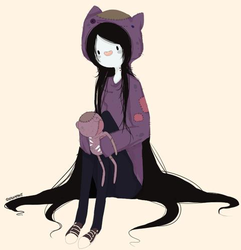 Marceline dresses as Hambo