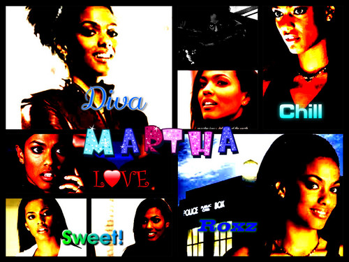 Martha Jones, sejak no1drwhofan!!! :D
