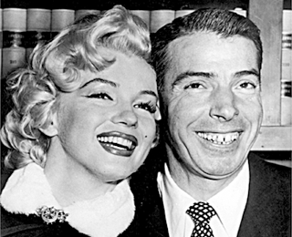 Marylin And 秒 Husband, Joe DiMaggio