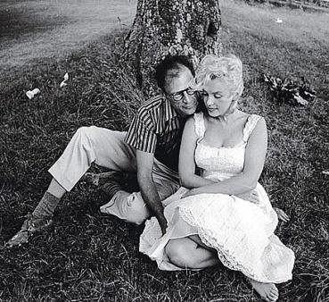Marylin And Third Husband Playwright, Arthur Miller
