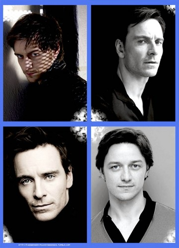 James McAvoy and Michael Fassbender wallpaper containing a portrait titled McFassy ★
