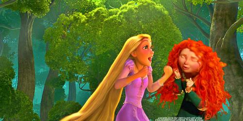 Merida/Rapunzel