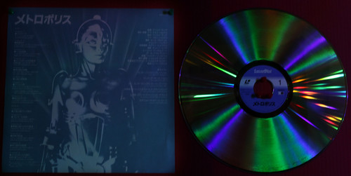 Metropolis [1984] on Laserdisc - Japanese Version