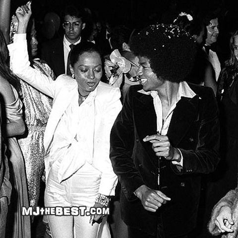 "Michael And Diana Dancing At Studio 54 Back In The Late ""'70's"""
