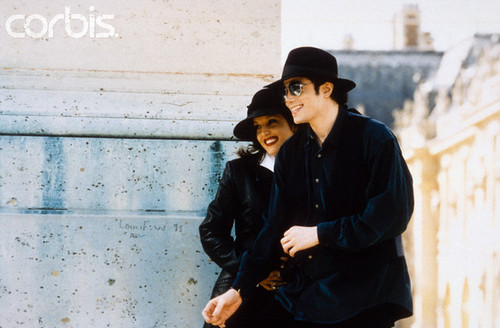 Michael And First Wife, Lisa Marie Presley, In Paris Back In 1994