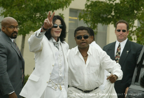 Michael And Younger Brother. Randy