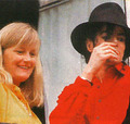 Michael And Second Wife, Debbie Rowe - michael-jackson photo