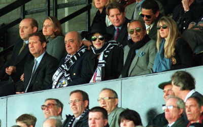 Michael At A Football Game In England