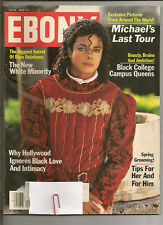 "Michael On The Cover Of The 1989 Issue Of ""EBONY"" Magazine"