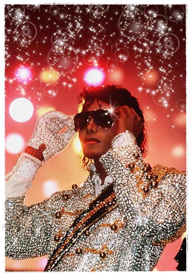 Michael at Victory Tour