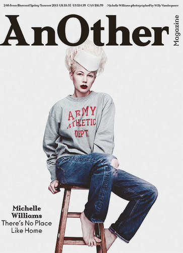 "Michelle Williams for ""AnOther"" Magazine - (2013)"