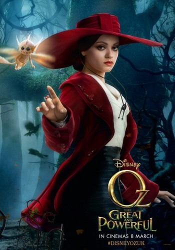 Mila Kunis - OZ: The Great and Powerful - Poster