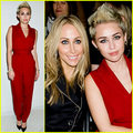 Miley Cyrus at the Rachel Zoe Fall 2013 fashion show feb 13 2013 