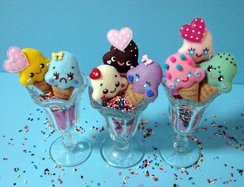 Cute Kawaii Ice Cream