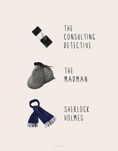 Sherlock in der BBC Hintergrund probably containing an academic kleid called Sherlock Holmes