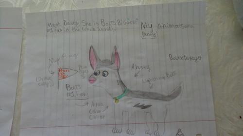 My Animalsona Dusty! :D