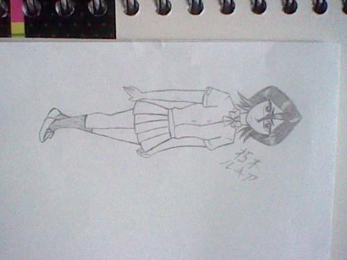 My Rukia drawing