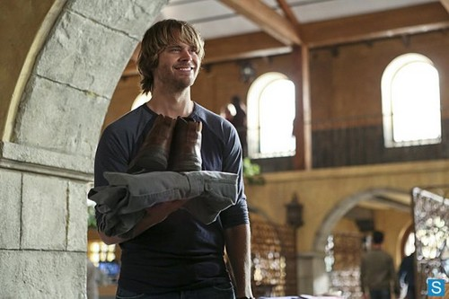 NCIS: Los Angeles wallpaper containing a street called NCIS: Los Angeles - Episode 4.15 - History - Promotional Photos