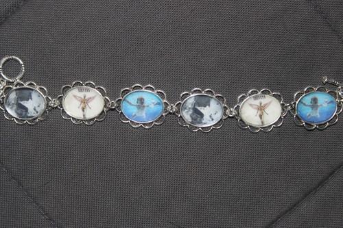 nirvana album covers bracelet