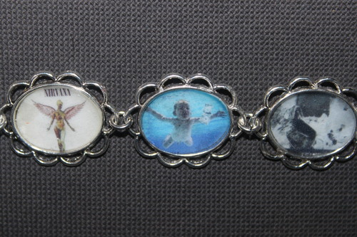 Nirvana album covers bracelet