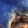 Nebula NCG 2174 - space photo