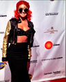 Neon Hitch Day 2013 Wears Mercura NYC Moon Lady Sunglasses