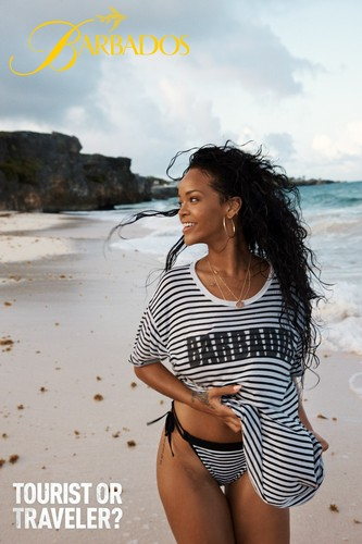 New picture from Rihanna's Barbados campaign