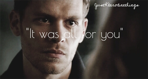 Niklaus Mikaelson | The Vampire Diaries | 4.14