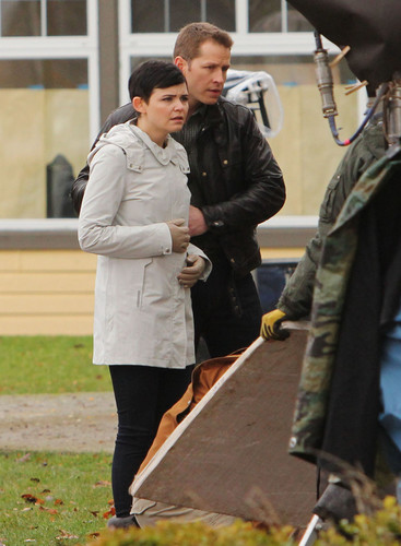 OUAT - On Set afbeeldingen
