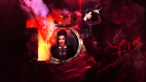 once upon a time fondo de pantalla containing a fuego entitled Regina/Evil queen