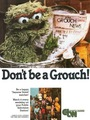 Oscar the Grouch Sesame Street ad