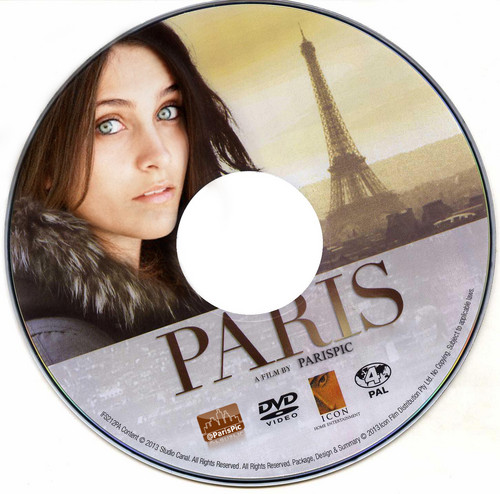 Paris Jackson CD DVD Blu-ray Disc (@ParisPic)