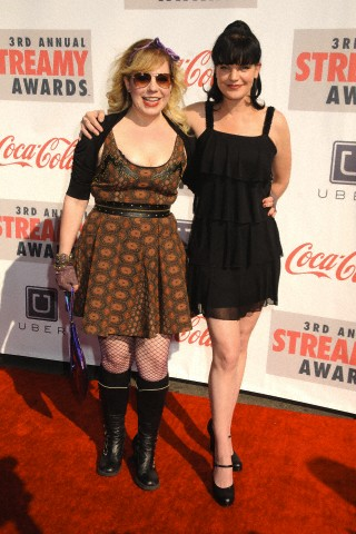 Pauley Perrette - 3rd Annual Streamy Awards 17/02/2013