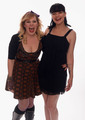 Pauley Perrette &amp; Kirsten Vangsness pose for a portrait in the TV Guide Portrait Studio  - pauley-perrette photo
