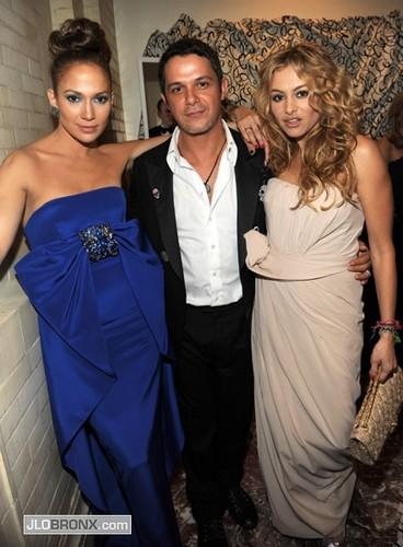 Jennifer Lopez wallpaper titled Paulina Rubio, Alejandro Sanz, Jennifer Lopez 2009